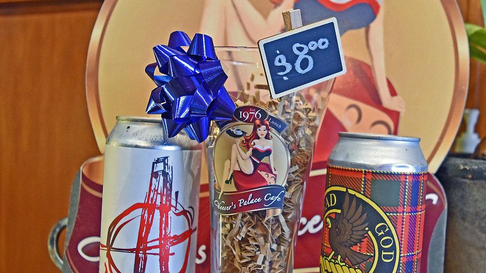 Tall Pilsner Beer Glass