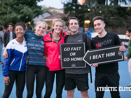 ATHLETIC ELITE MEETING 2017: (4 VOLTE) GRAZIE