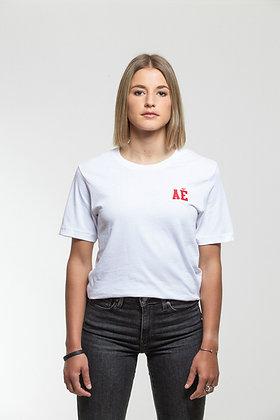 Heart shield T-shirt white