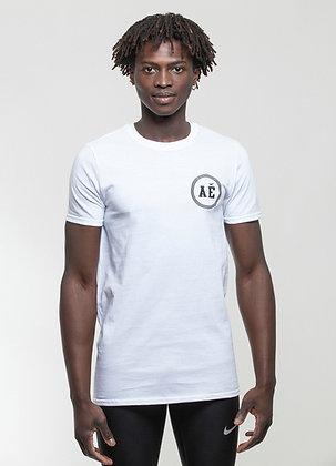 AE Team shield T-shirt white