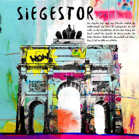 Siegestor München, Kunstdruck, Kunst, Online kaufen