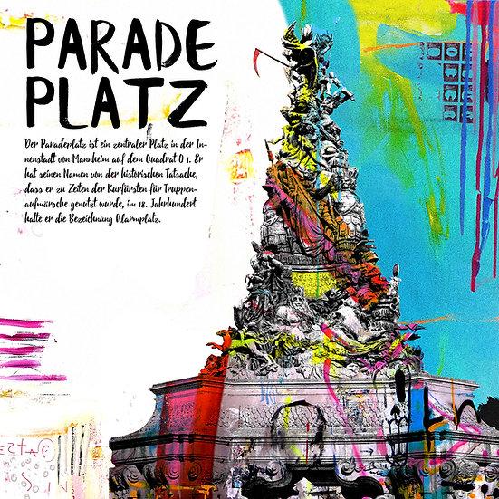 Paradeplatz, mannheim, Popart, kunst, einkaufen, zuhause, Deko, modern, Kultur