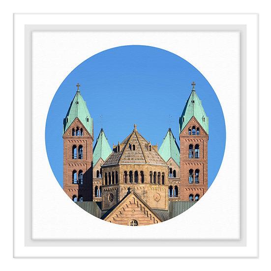 Speyer Kalender 2021, Kaiserdom Speyer, Wandbild, Art2 Kunstraum, Fotografie Speyer, Pfalz,