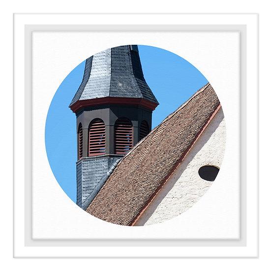 Speyer Kalender 2021, Klosterkirche, Wandbild, Art2 Kunstraum, Fotografie Speyer, Pfalz,