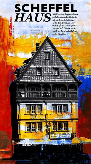 Scheffelhaus, Neustadt, Wandbilder, Kunstbilder, online kaufen, shopping, shop, Pfalz, dekoration, modern, Einrichtung