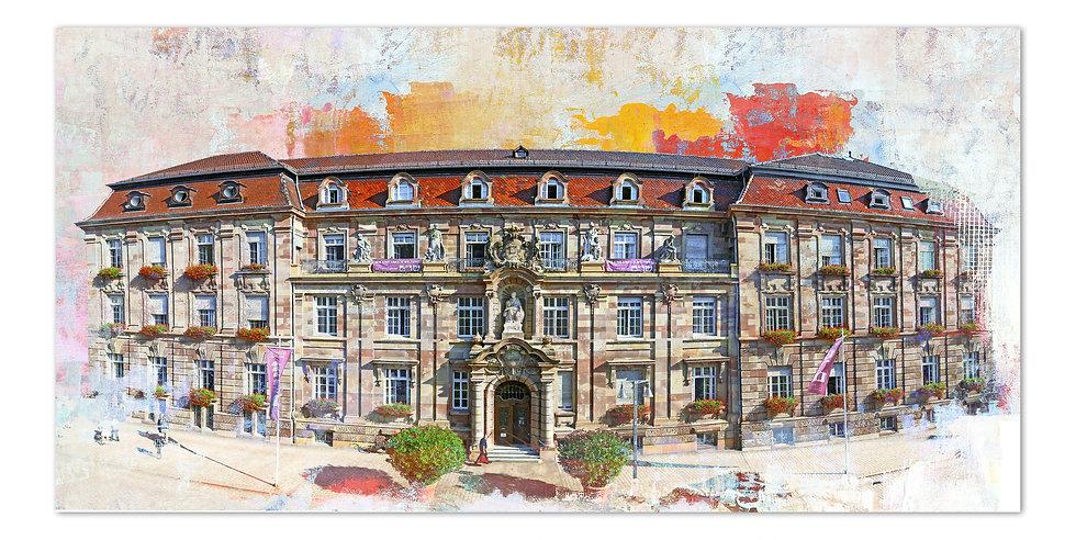 speyer Stadthaus kunstbild, speyer wandbilder, art2 Kunstraum, Speyer bilder, leinwand