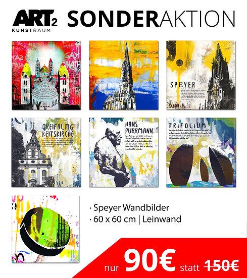 Sonderaktion Speyer wandbilder, Speyer artikel, art2 Kunstraum, wandbilder Speyer, kaiserdom, Gedächtniskirche