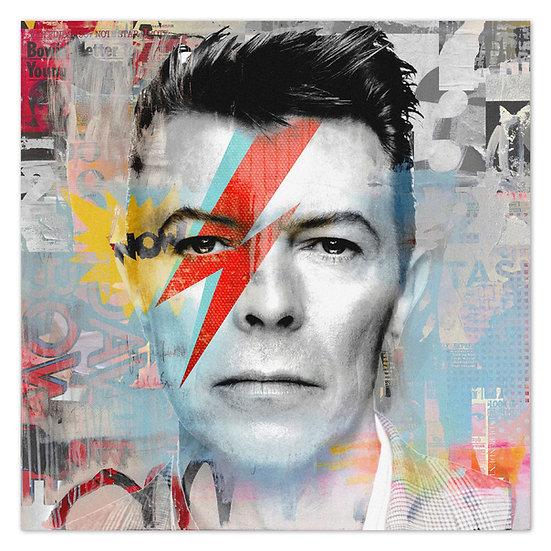 David Bowie kunstbild, art, wandbild, weltstar, kunst, online kaufen, music, artist, charts, bowie