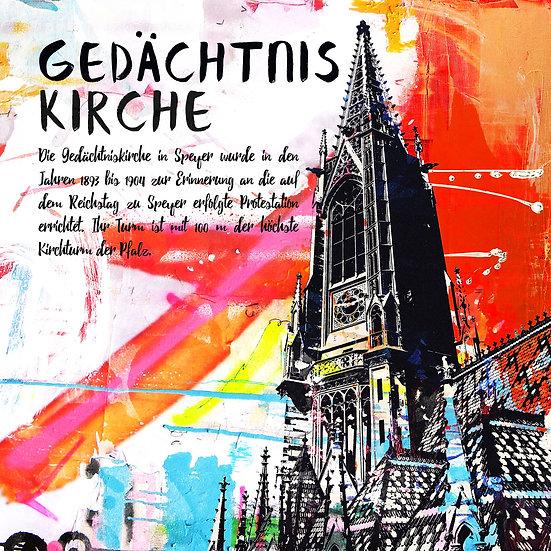 Gedächtniskirche Speyer, Angebot, Kunstdruck, Kunst, Online kaufen