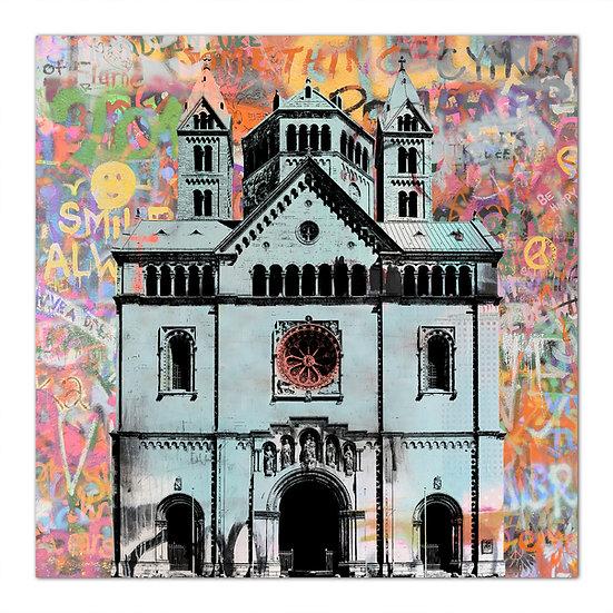 kaiserdom speyer wandbild, popart speyer, art2 Kunstraum, fine art bilder Speyer, kunst online kaufen