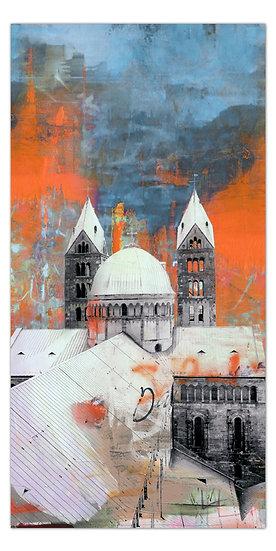 Kaiserdom Speyer wandbild, art2 kunstraum, dom Speyer kunstbilder, shop, angebote, Pfalz, leinwandbilder Speyer