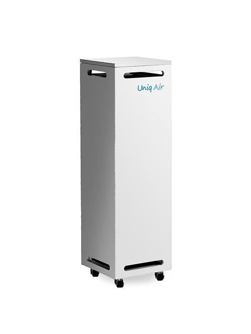 Luftreiniger UniqAir Business - filtert Feinpartikel wie Viren (z.B. Corona bzw. COVID-19-Viren), Bakterien und Aerosole