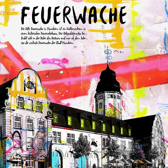 alte Feuerwache, mannheim, Kunstdruck, motive, modern, Ausstellung, kunst, dekorieren, wohnen, zuhause