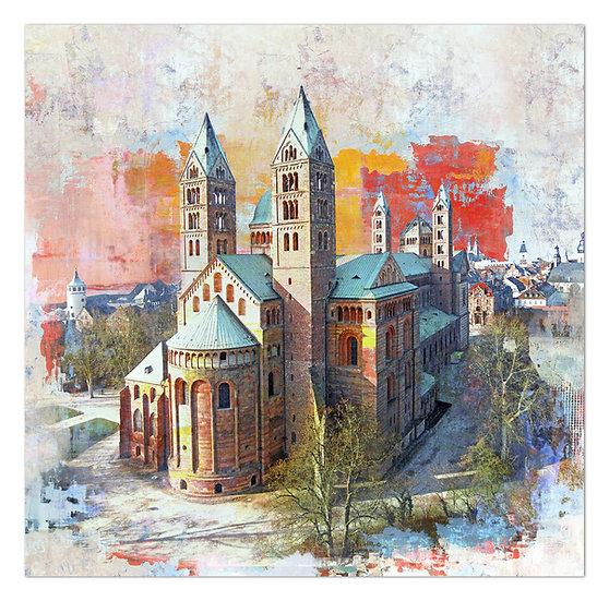 speyer kaiserdom, wandbilder speyer, kunstbilder Speyer, art2 Kunstraum, Speyer bilder