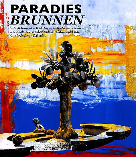 Paradiesbrunnen, Neustadt, dekoration, Wandbilder, online kaufen, kunst, Künstler, modern, abstrakt