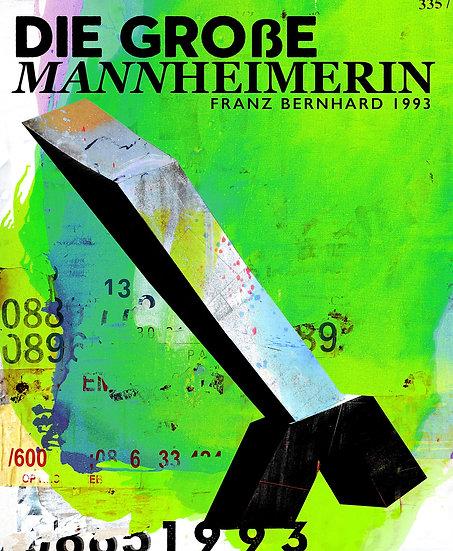 große Mannheimerin, kunstobjekt, mannheim, Künstler, Dekoration, Kunstdruck, färben, kunst