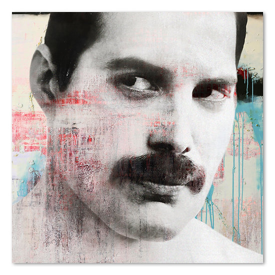 Freddie mercury, queen, star, Kunstbild, Bohemian Rhapsody, Sänger, legende, freddie mercury Kunstbild