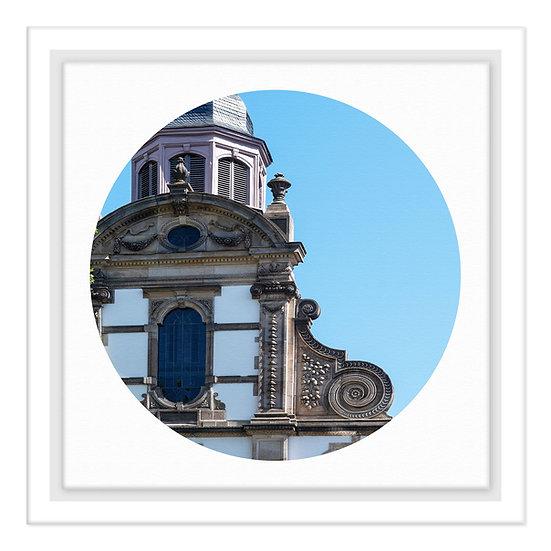 Speyer Kalender 2021, Dreifaltigkeitskirche, Wandbild, Art2 Kunstraum, Fotografie Speyer, Pfalz,
