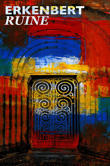 erkennest ruine, frankenthal, kunst Gemälde, Leinwand, kunst kaufen, Wandbilder, dekoration, modern, abstrakt, Einrichtung