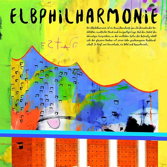 Elbphilharmonie Hamburg, Kunstdruck, Kunst, Online kaufen