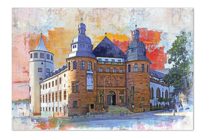 historisches museum speyer wandbild, kunstbilder Speyer, art2 kunstraum, Speyer kunst,