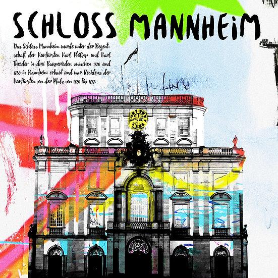 Schloss Mannheim, Kunstdruck, Kunst, Online kaufen