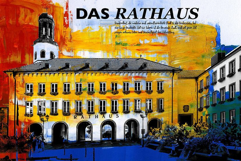 Rathaus Frankenthal, Kunstdruck, art2, kunst, Einrichtung, design, online kaufen,