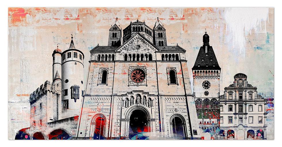 speyer Sehenswürdigkeiten wandbild, art2 kunstraum, speyer fotogeschenke, speyer bilder, Kaiserdom Speyer, altpörtel Speyer