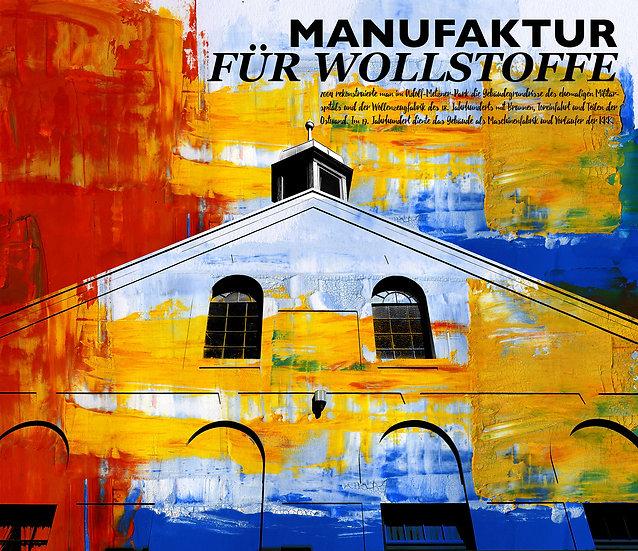 Manufaktur für Wollstoffe, frankenthal, pfalz, wandbild, leinwand, kunst, dekoration, einrichtung, design