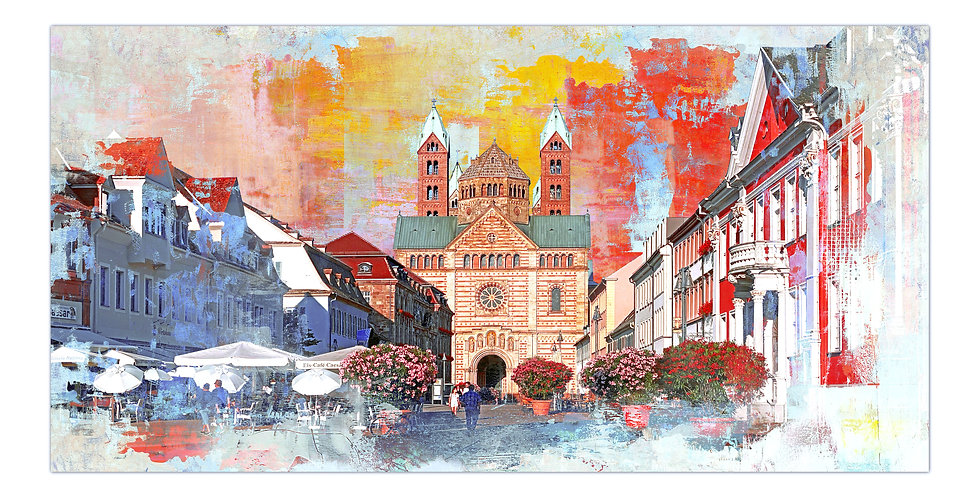 speyer kaiserdom, speyer wandbilder, art2 kunstraum, kunstbilder Speyer, kaiserdom, Speyer sehenswürdigkeiten, kunst kaufen
