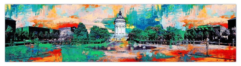 mannheim wandbilder, art2 Kunstraum, Wasserturm Mannheim, Leinwandbilder Mannheim, kunst kaufen