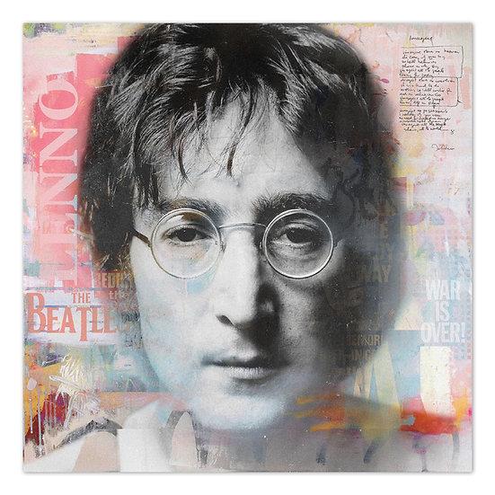 John Lennon kunstbild, Wandbild, The Beatles, Songwriter, Star, Dekoration, Leinwand, Kunst online kaufen, Artist, Lennon