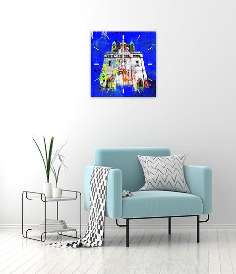 Acryl Uhr, Kaiserdom Speyer, Geschenkideen, Kunst, Online kaufen