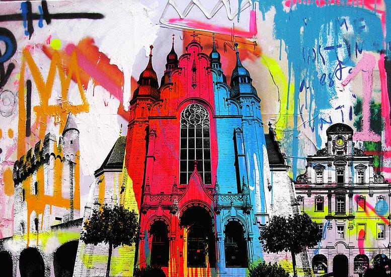 St Josephskirche, Speyer, Kunstdruck, Kunst, Online kaufen