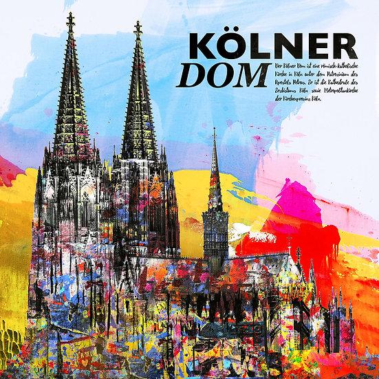Kölner Dom, Kunstdruck, Kunst, Online kaufen