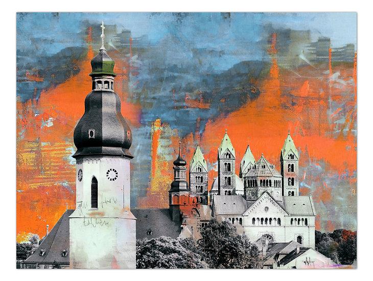 Speyer Sehenswürdigkeiten 20 | Wandbild