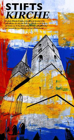 Stiftskirche, Neustadt, kunstbilder, wandbilder, rabatt, online kaufen, shop, kunst, dekoration, modern, abstrakte kunst