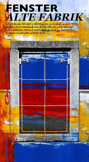 Fenster, Frankenthal, Dekoration, Wandbild, Einrichtung, Modern, Abstrakt, Kunst, Künstler, Pfalz