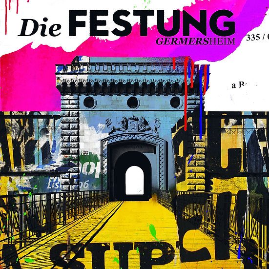 Die Festung Germersheim, Kunstdruck, Kunst, Online kaufen