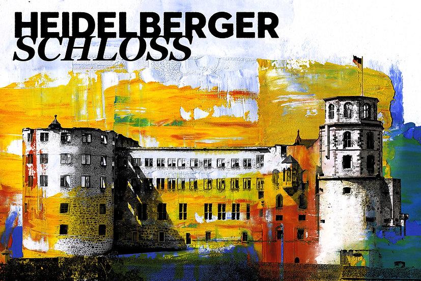 Heidelberger Schloss, Kunstdruck, Kunst, Online kaufen