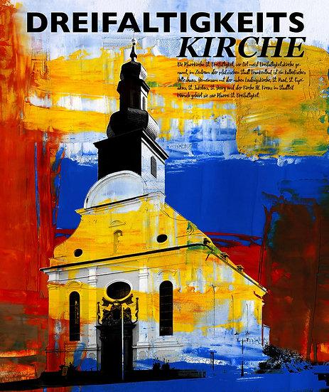 Dreifaltigkeitskirche, Frankenthal, Kunst, Wandbild, Art, Pfalz, Dekoration, Modern, Abstrakt,