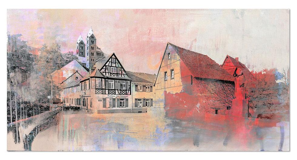 Speyer Sehenswürdigkeiten 11 | Wandbild