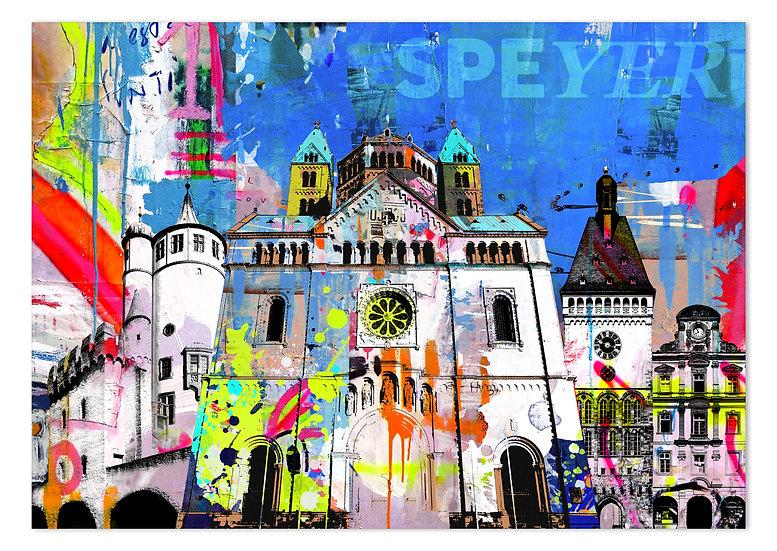 speyer Sehenswürdigkeiten. speyer kunstbilder, wandbilder Speyer, art2 Kunstraum, Kaiserdom Speyer, altpörtel speyer, kunst