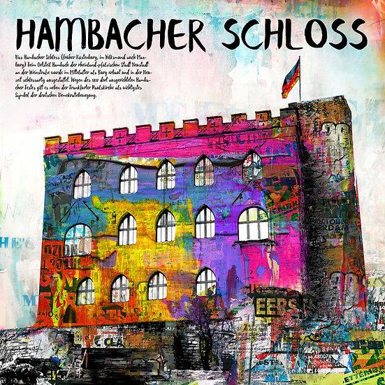 hambacher schloss, Neustadt, Kunst, online kaufen, online shop, Kunstdruck, rheinland Pfalz