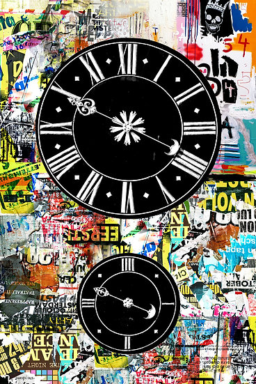 Altpörtel Uhren Speyer | 70 x 105 cm | Acryl-Glas glänzend