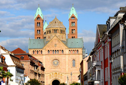 Rathause, Kaiserdom, Speyer