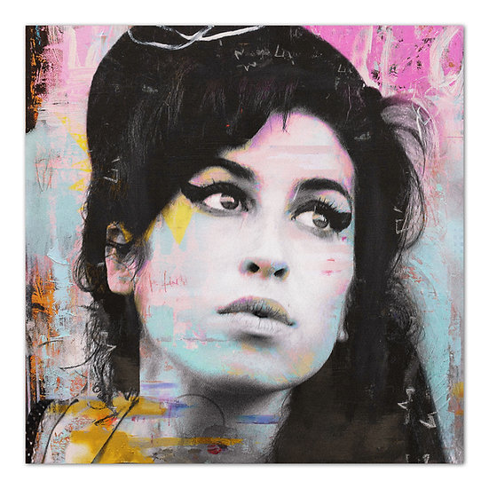Amy Winehouse art, Amy Winehouse kunstbild, art2 Kunstraum, Wandbilder, Speyer, art, popart