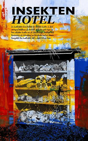 Insektenhotel Frankenthal, pfalz, wandbild, kunst, art, künstler, popart, dekoration, einrichtung, pfalz, modern, abstrakt