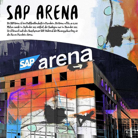 sap arena, mannheim, Kunstdruck, motive, art, wohnen, kunst, Dekoration, Künstler, motive