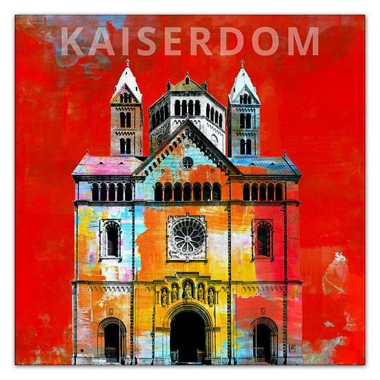 Kaiserdom Speyer Wandbild, Speyer Artikel, Art2 Kunstraum, Kaiserdom Geschenkideen, Shop
